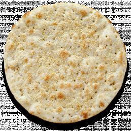 Хлебная лепёшка фокачча с кунжутом и оливковым маслом
