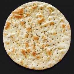 Хлебная лепёшка фокачча с чесноком и оливковым маслом