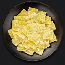 "Равиоли с картофелем ""Панчетта-патато"""