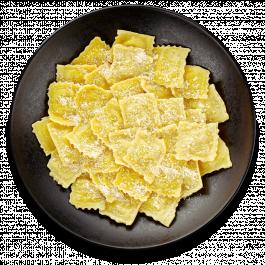 Равиоли с картофелем «Панчетта-патато»