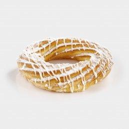 Заварное кольцо с творогом