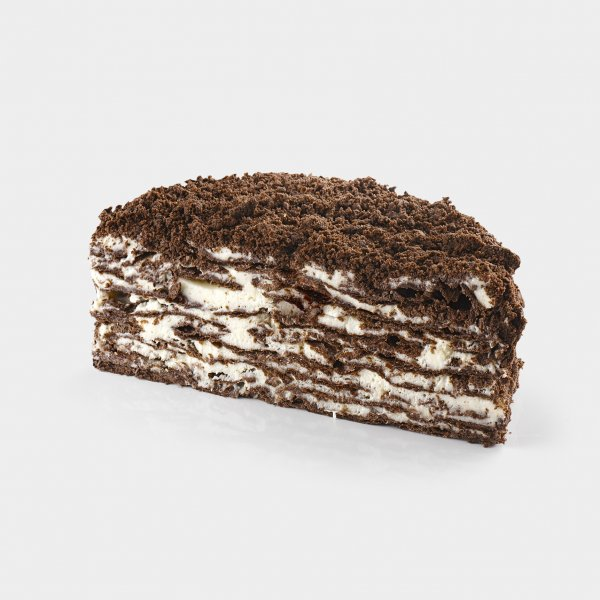 Мини-наполеон шоколадно-кокосовый