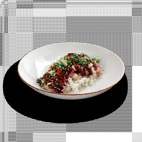 Мясо цыплёнка по-китайски в соусе хойсин