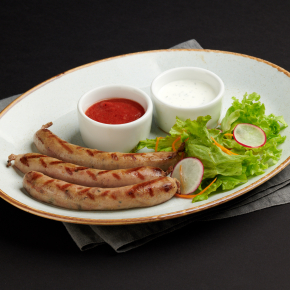 Колбаски из баранины с кинзой