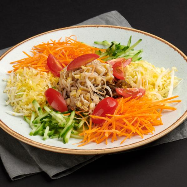 Дальневосточный с морской капустой и овощами