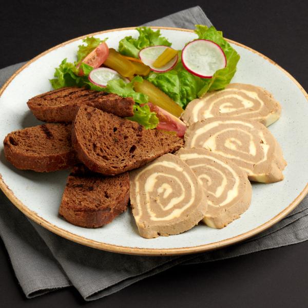 Сливочный паштет из говяжьей печени