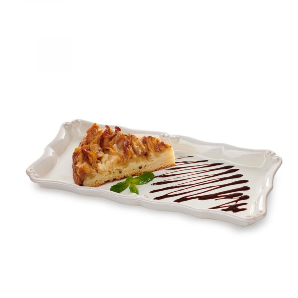 Пирог грушевый с мороженым