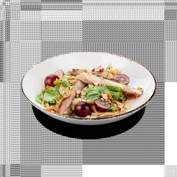 Малайзийский салат с виноградом
