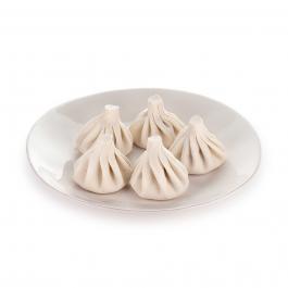 Хинкали со шпинатом и грибами (1шт)