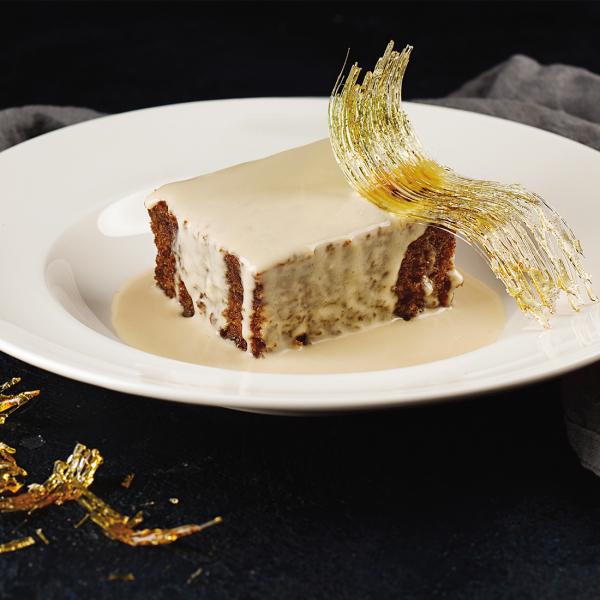 Тоффи-пудинг со сливочным соусом