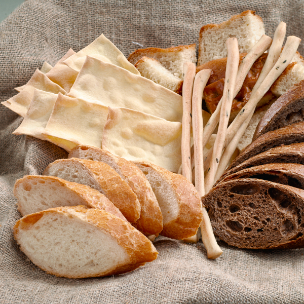 Корзина итальянского хлеба