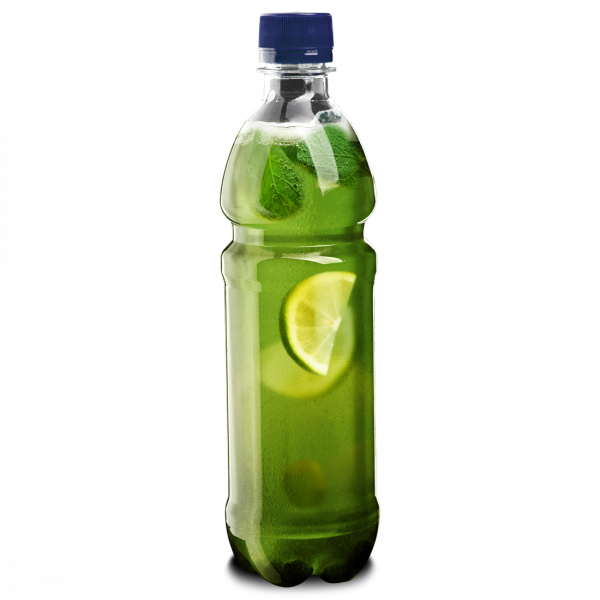 Холодный зеленый чай с мятой