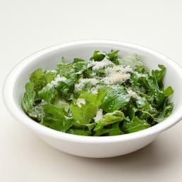 Зелёный салат с пармезаном
