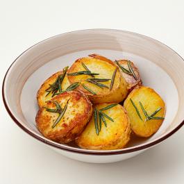Печёный картофель с розмарином