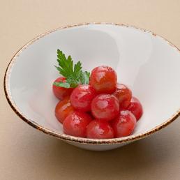 Маринованные томаты черри с перчиком