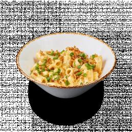 Ригатони под сырным соусом