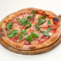Пицца по-пармски