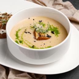 Крем- суп из лисичек