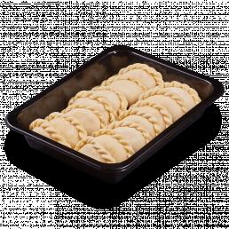 Вареники с картофелем и шкварками