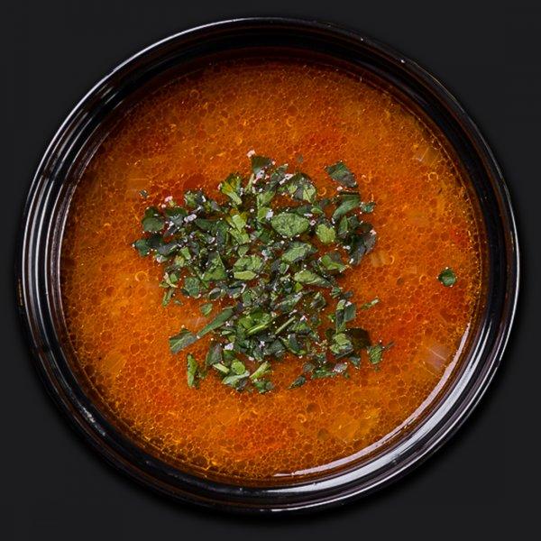 Суп с киноа и белой фасолью
