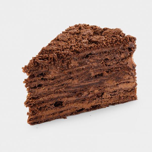 Неаполеон шоколадно - кофейный (2 кусочка)
