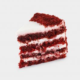 Красный бархат (2 кусочка)