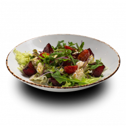 Салат с печёной свёклой