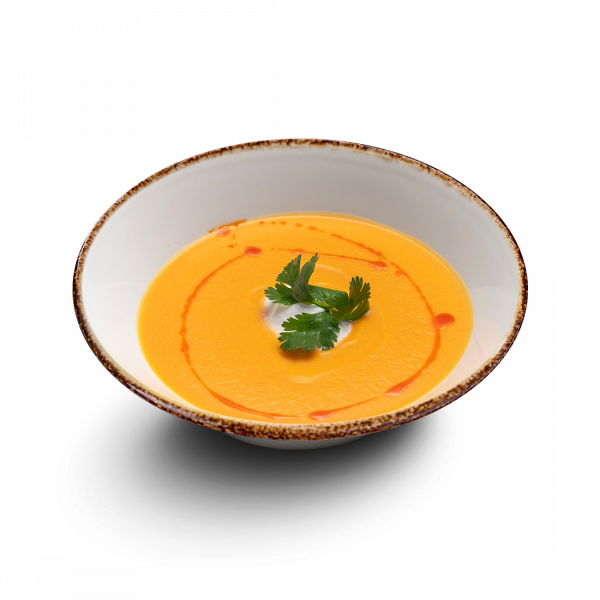 Тыквенный суп с кокосовыми сливками