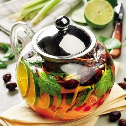 Чай из лемонграсса с шиповником