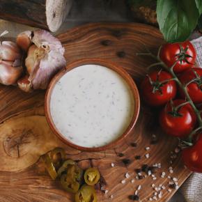 Соус сливочный с сыром фета