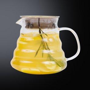 Чай с имбирём, мёдом и розмарином