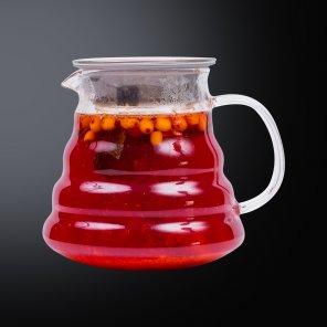 Чай с абрикосом, морошкой и облепихой