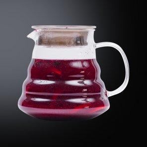 Чай с черникой и смородиной