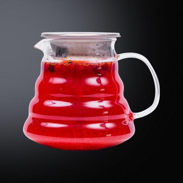 Чай с калиной и малиной
