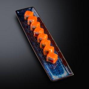Ролл с тунцом и сливочным сыром