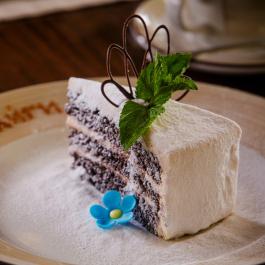 Домашний черёмуховый торт