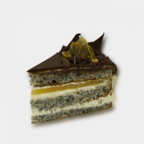 Маковый торт (2 кусочка)