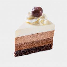 Три шоколада (2 кусочка)