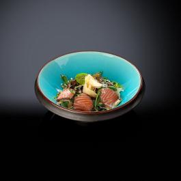 Карпаччо из лосося с соусом цитрус-имбирь