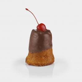 Ромовая баба в темном шоколаде