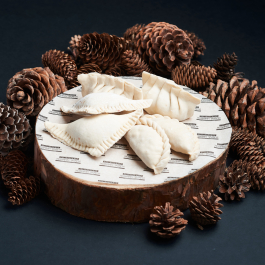 Якутские пирожки с утиной печенью