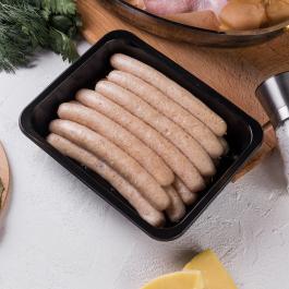Тонкие колбаски из курицы по-домашнему