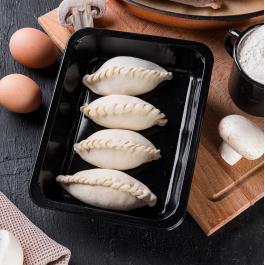 Пирожки с индейкой и грибами