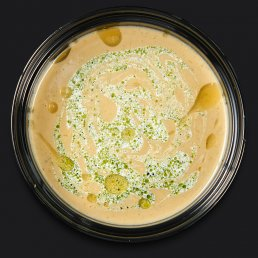 Овощной суп-пюре с кокосовым молоком