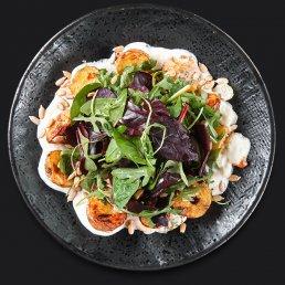 Салат с мини-картофелем