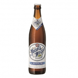 Пиво безалкогольное «Maisel's Weisse Alkoholfrei» светлое непастеризованное нефильтрованное, 0.5л