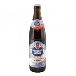 Пиво безалкогольное «Schneider Weisse TAP 3 Mein Alkoholfreies» светлое нефильтрованное пасеризованное, 0.5 л