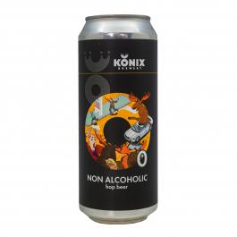 Пиво безалкогольное «Moose Just Moose» светлое нефильтрованное пастеризованное, 0.45 л