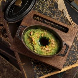 Пате из брокколи с кедровым орехом