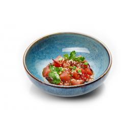 Тар-тар из тунца и арбуза